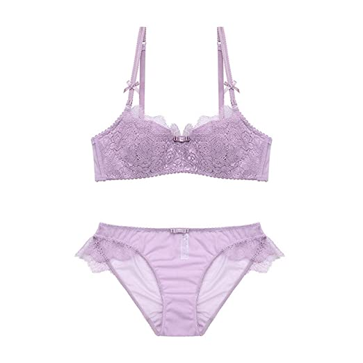 Sexy Women Lace Lingerie Bra Set Push Up Bras and Underwear Sets Plus Size  at Amazon Women s Clothing store  706ea3bb8
