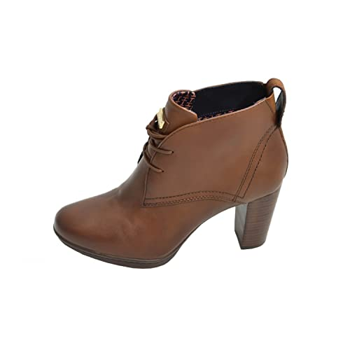 Tommy Hilfiger Botines de tacón JAKIMA marrón para mujer, Marrón (marrón), 37: Amazon.es: Zapatos y complementos
