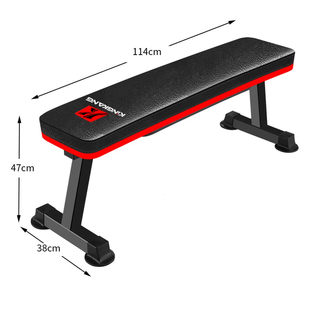 Black Dumbbell Bench, Flat Workout Bar Preacher Curl Bench with Weights at Home Equipment, Olympic Weight Bench, Sit Up AB Bench (color   Black)