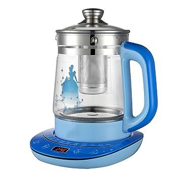 YI HOME- Bouilloire Électrique Intelligente Santé Épaissie Verre Bleu  Théière Multi-Fonction Split Café 8e380532d86d