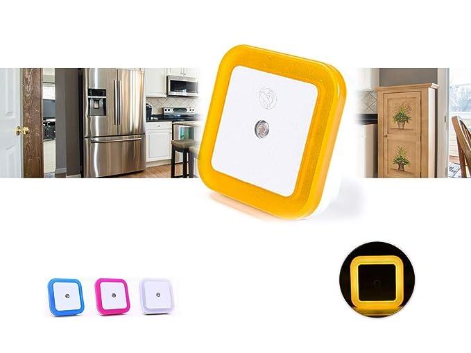 Pasillo y Recibidor Ideal como Quitamiedos para ni/ños Rosa Habitaciones de beb/é Marsson Luz de Noche con Sensor Ba/ño Luz de Cocina