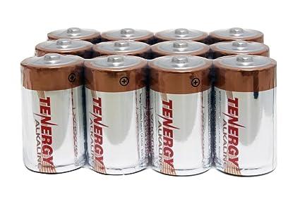 Review Tenergy 1.5V D Alkaline