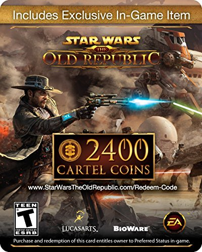 Star Wars: The Old Republic - 2400 Cartel Coins + Exclusive Item [Online Game Code] (Old Cheap Coins)