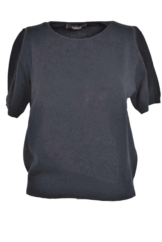 Tshirt Misto Cachemire Classico Twin Set Donna Cardigan Girocollo