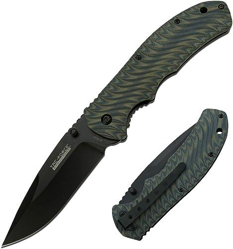 Tac Force Evolution Spring Assisted Knife – TFE-A010-BYL