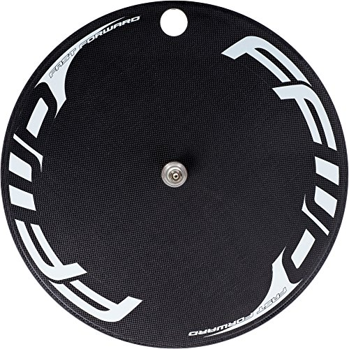 Fast Forward FFWD Wheels DISC-T Carbon Front Track Disc Tubular Wheel White
