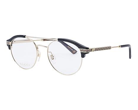ec60618e4cbce4 Lunettes de Vue Gucci GG0289O BLACK homme  Amazon.fr  Vêtements et ...