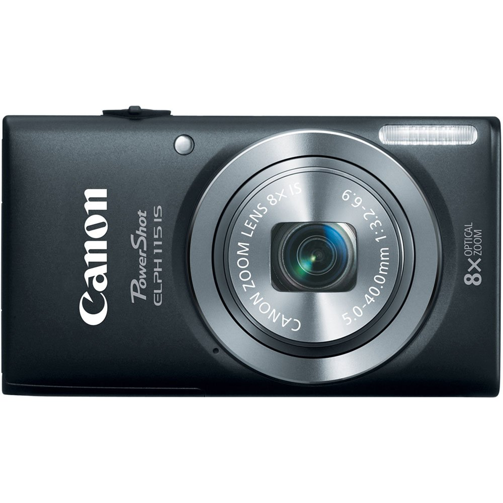 Amazon.com : Canon PowerShot Elph 115 16MP Digital Camera with 2.7-Inch LCD  (Black) (OLD MODEL) : Point And Shoot Digital Cameras : Camera & Photo