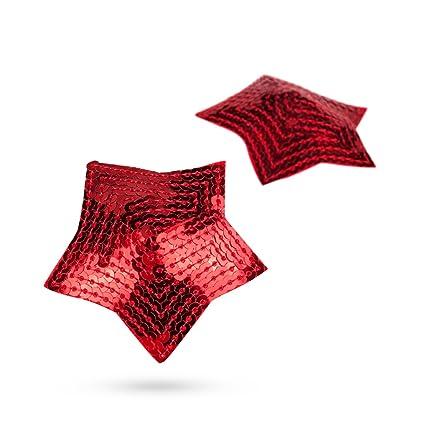 XOXO Lujo Nippel Pasties, estrella en forma elegante pezones Bedeck Finales de pegatinas (reutilizable