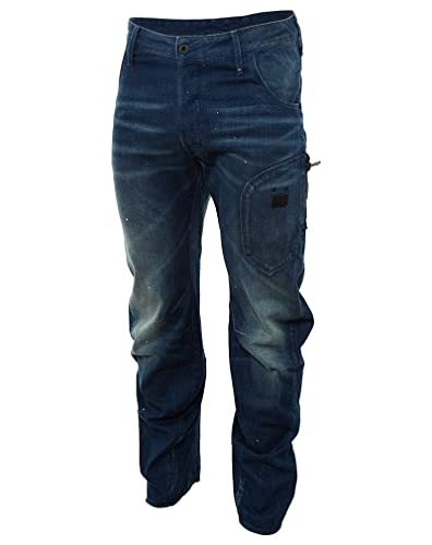 fb02818fc8b Amazon.com  G-Star Raw Biker Arc 3D Loose Tapered Jeans Mens Style   50777.4841-071 Size  34W  Shoes