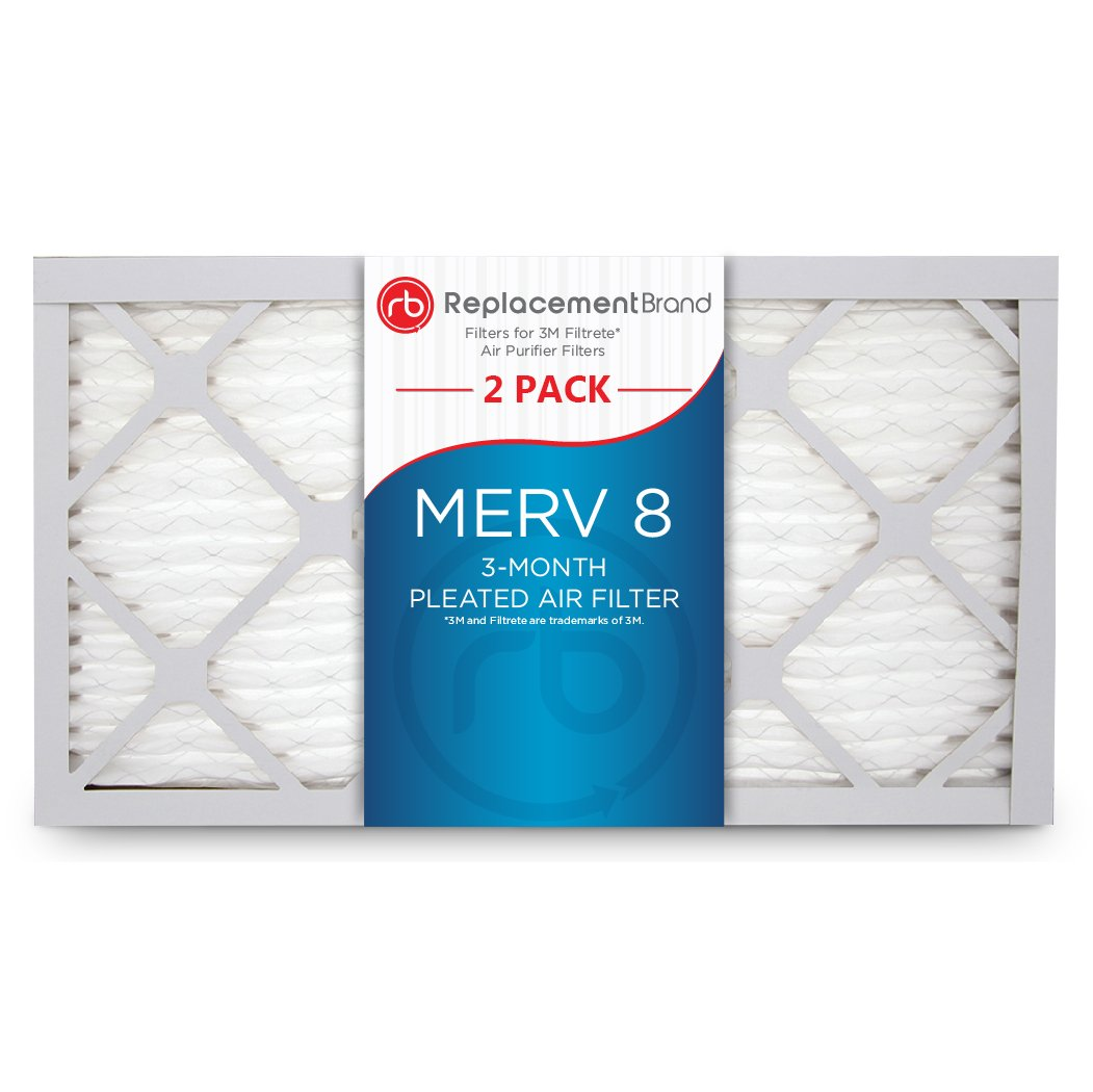 RB/_RAP/_010915/_4PK ReplacementBrand 9 x 15 x 1 MERV 8 Air Filter Replacement for FAPF02 4 Pack