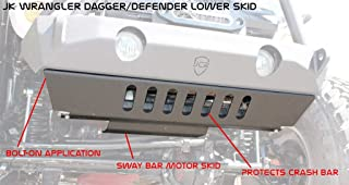 product image for JcrOffroad JKSD-VCM-Bare Skid Plate (07-16 Wrangler Vanguard, Crusader, Mauler - Bare)
