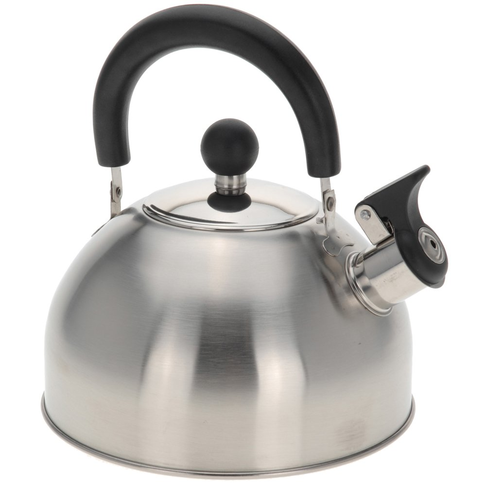 2,5 L Edelstahl Flötenkessel Wasserkessel Teekessel: Amazon.de ...