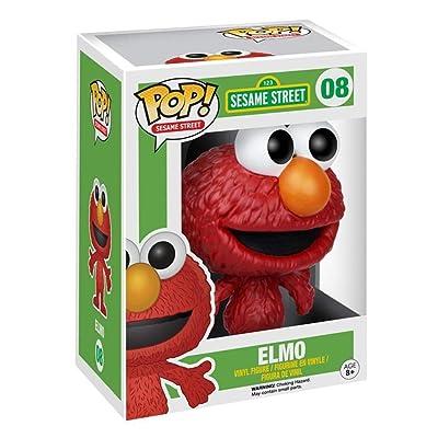 Funko Pop! Sesame Street #08 Elmo Vinyl Figure: Funko Pop! Television:: Toys & Games