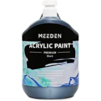 MEEDEN Heavy Body Acrylic Paint (2L /67 oz.) with Pump Lid, Non-Toxic Rich Pigments Colors, Perfect for Acrylic Poured…