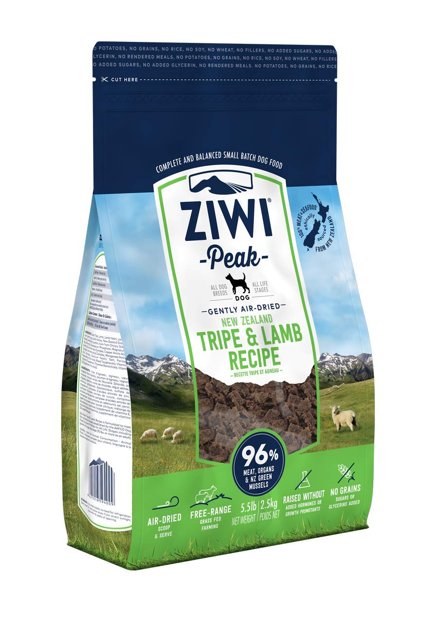 2.5 kg ZiwiPeak Daily Dog Cuisine Tripe and Lamb Pouches, 2.5 kg