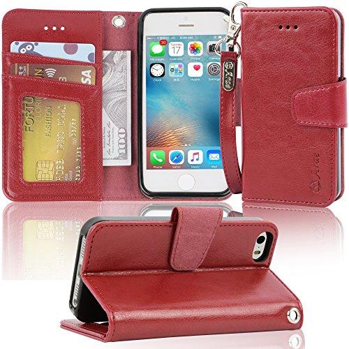 Arae Kickstand Feature leather Pockets