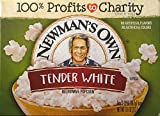 Newman's Own Natural Tender White Microwave Popcorn (Pack of 3) 3 Count Boxes