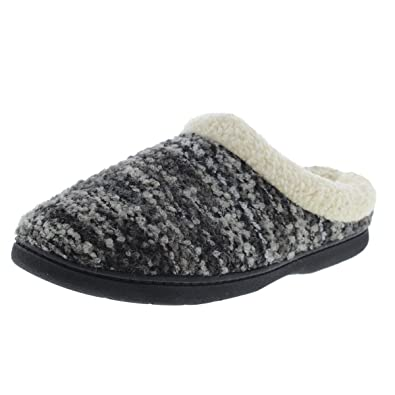 Dearfoams Quilted Cable Knit Closed Back Slipper (Women's) ATW1DL