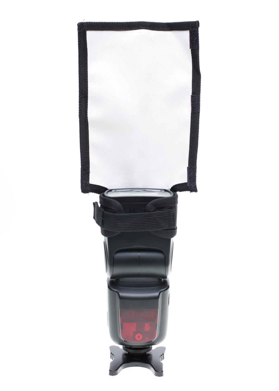 Fovitec StudioPRO Photography Speedlight Reflector Bend Flash Reflective Bounce Card Flexible Flag by Fovitec