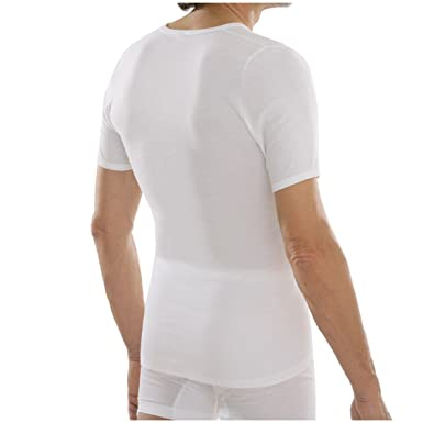 comazo Herren platin Unterhemd kurzarm Feinripp  Amazon.de  Bekleidung bd1407f948