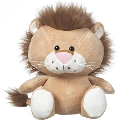"Ganz 7.5"" Whimsy Pets Lion Plush Toy: Toys & Games"