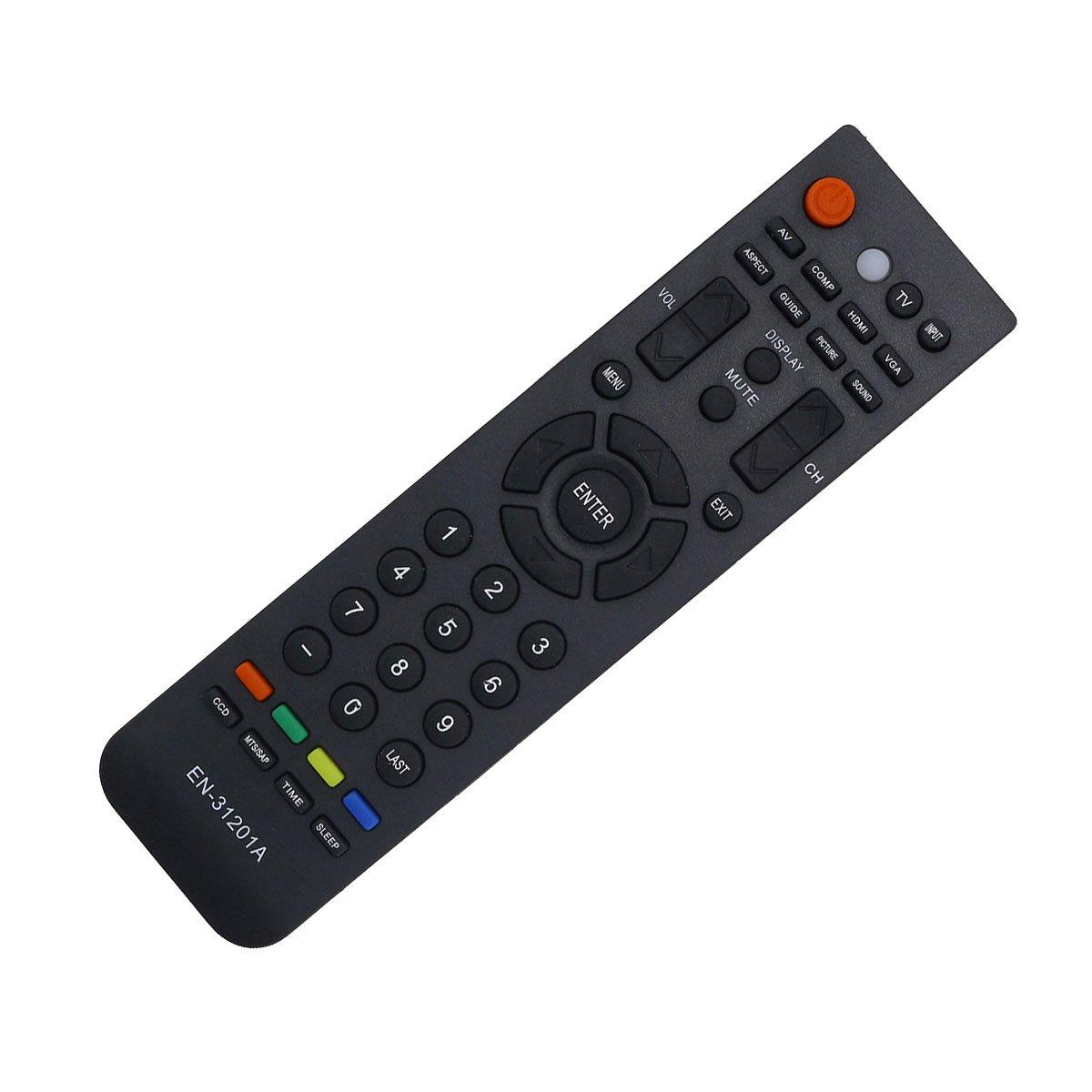 DEHA テレビリモコン Hisense EN-31206Aテレビ用 B07Q47WTLY