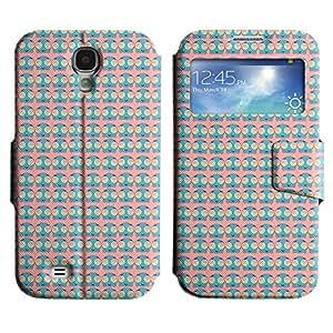LEOCASE simpático personaje Funda Carcasa Cuero Tapa Case Para Samsung Galaxy S4 I9500 No.1006509