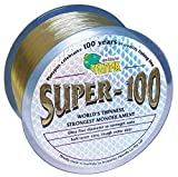 Platypus Super-100 - World's Strongest Fishing Line Since 1898! Natural Brown (300m spool, 10 lb)