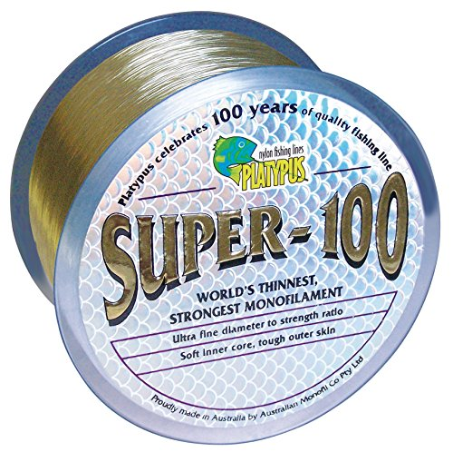 Cheap Platypus Super-100 – World's Strongest Fishing Line Since 1898! Natural Brown (300m spool, 10 lb)