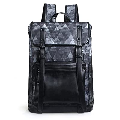 DRACONITE Large Vintage College Backpack Unisex Laptop Outdoor Casual Daypack