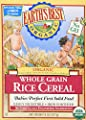 Earths Best Cereal, Original Whole Grain Rice, 8 oz (Pack of 2) by Earth's Best