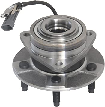 2005-2006 Chevy Equinox,5 Lugs W//ABS HICKS 513189 Front Wheel Bearing Hub Assembly for 2002-2007 Saturn Vue 2006 Pontiac Torrent