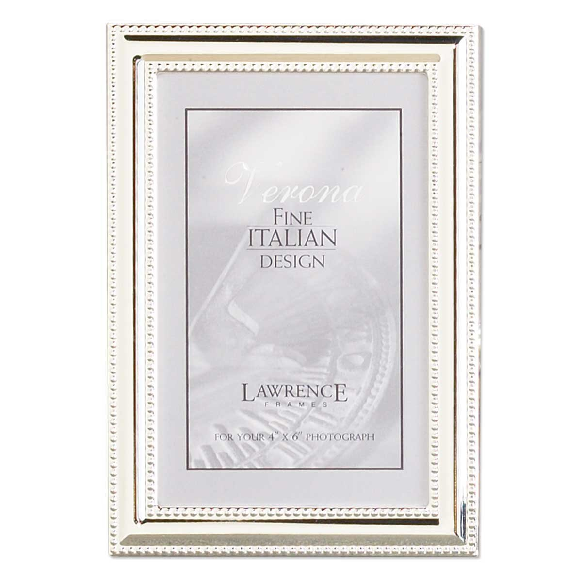 Amazon.com - Lawrence Frames Metal Picture Frame Silver-Plate with ...