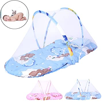 Baby Mosquito Net Crib Bed Oenbopo Portable Folding Baby Mosquito Bed Net Infant Nursery Bed  sc 1 st  Amazon.com & Amazon.com : Baby Mosquito Net Crib Bed Oenbopo Portable Folding ...