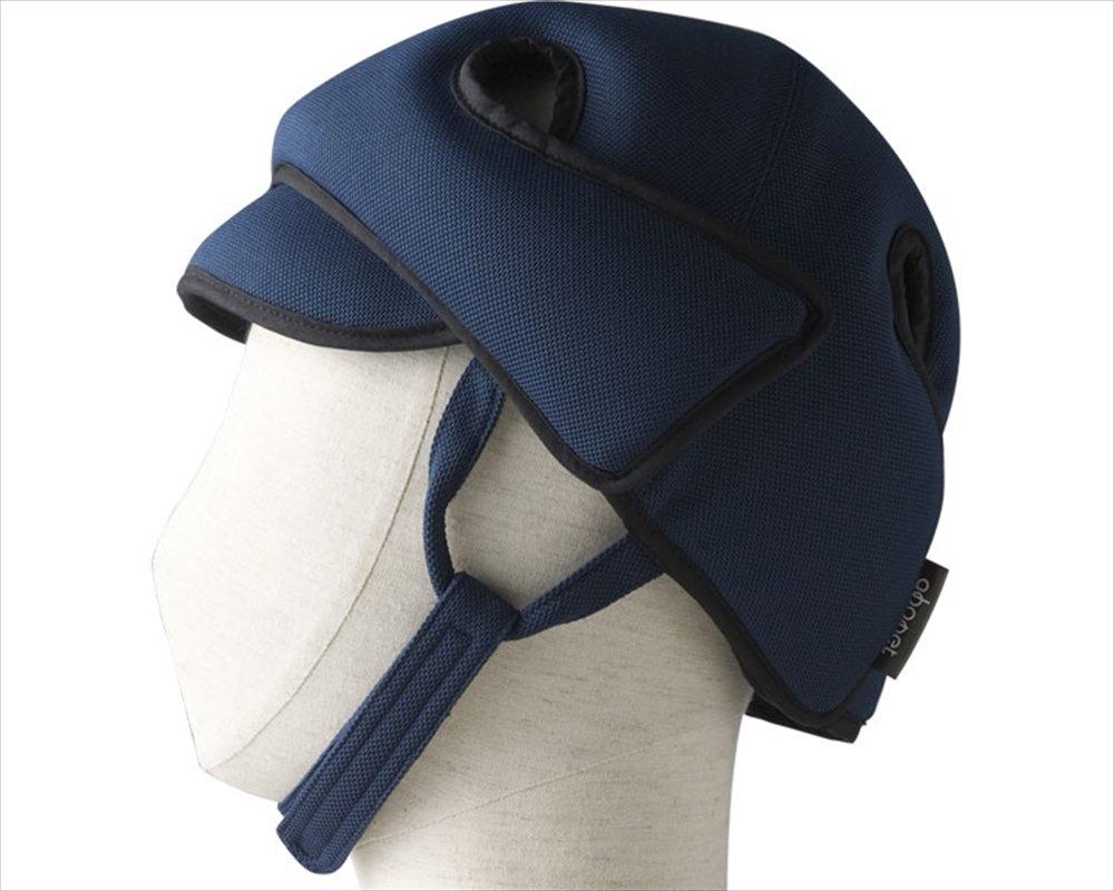 【非課税】保護帽[アボネットガードD]普通サイズ ネイビー /8-6513-02 B0111JNSPM ネイビー ネイビー