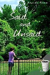 Said and Unsaid (Coffee and Donuts) (Volume 1)