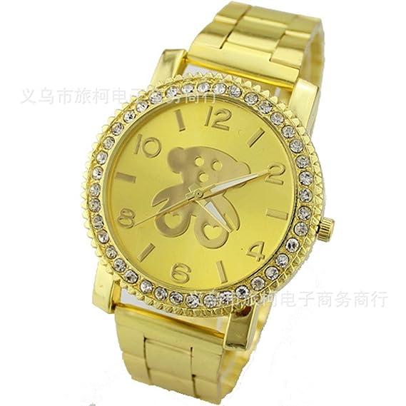 Winnie Mujeres Mejor Europa Relojes de cuarzo reloj de pulsera Tous Oso de la historieta al
