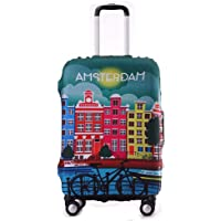 Tripnuo Elastic Travel Luggage Cover Travel Suitcase Protective Cover for Trunk Case Apply to 19''-32'' Suitcase Cover…