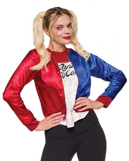 Horror-Shop Pelotón del suicidio Harley Quinn chaqueta de ...