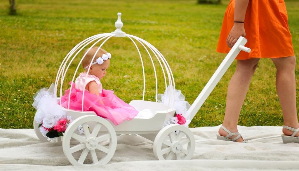 Amazon.com : Angel Carriage - Wedding Wagon for Children : Baby
