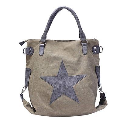 Amazon.com: Big Star Bolsos de lona con tachuelas de ...