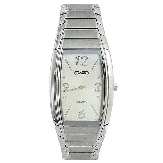 Reloj Duward Hombre D9100111 Rectangular Acero [3211] - Modelo: D9100111