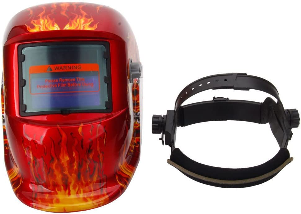 Solar Auto Darkening Welding Helmet Arc Tig Mig Mask Grinding Welder Mask