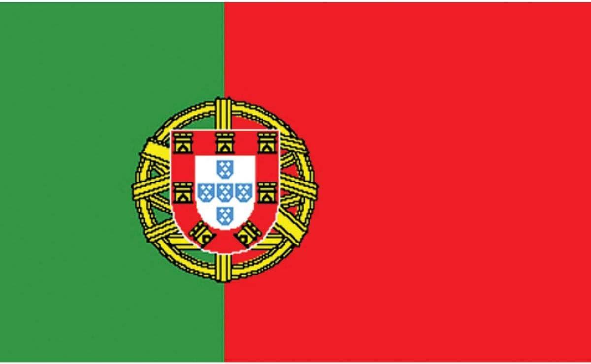 Trendclub100 Fahne Flagge Portugal Pt 150x90 Cm 90x150cm Garten