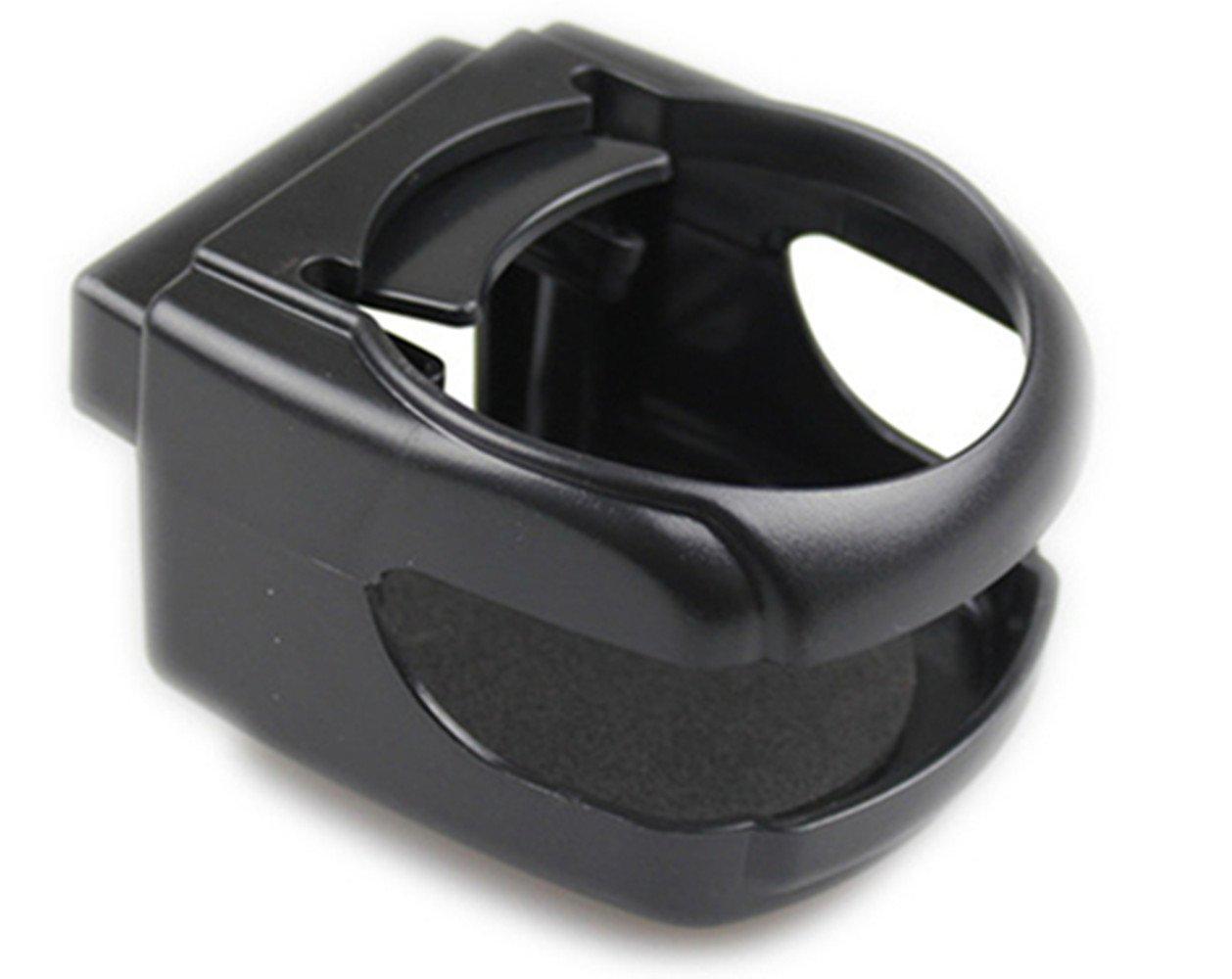 RANDER New Seat Wedge Cup Holder Multi-functional beverage rack for Universal Adjustable Car (Black(2 pcs))