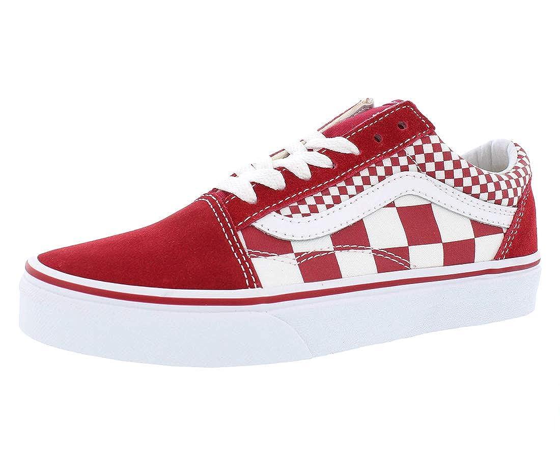 Rouge Vans Vans Old Skool Mix Checker  sélectionnez parmi les dernières marques comme