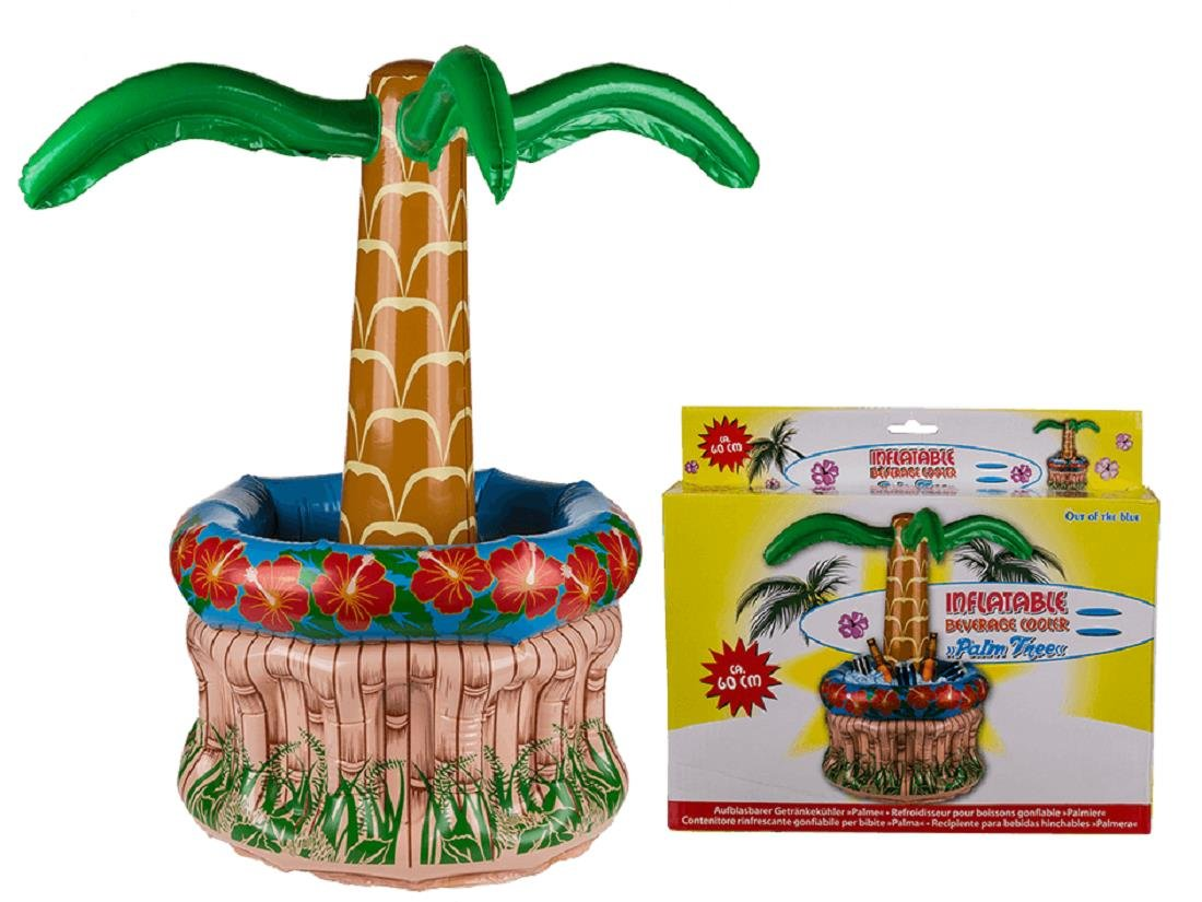 Amazon.com: Inflatable Palm Tree Tropical Beach Party Drinks ...