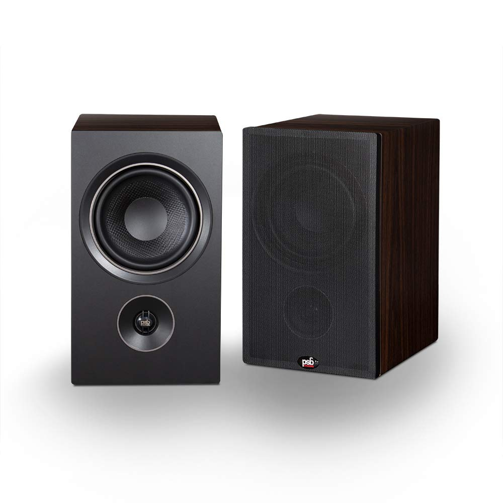 Parlante : PSB Alpha P5 Bookshelf Speaker - Walnut