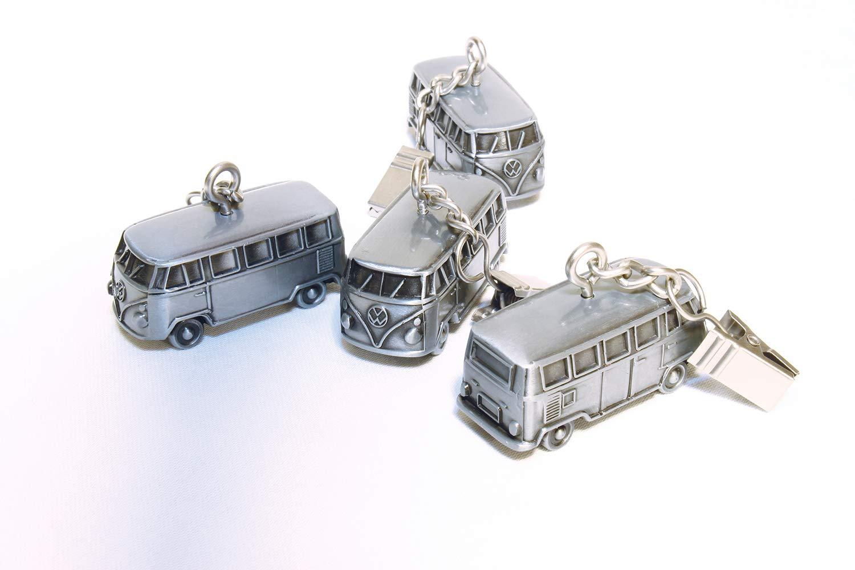 VW Collection by BRISA VW T1 Combi 3D Poids de Nappe 4 Pi/èces Antique Argentine